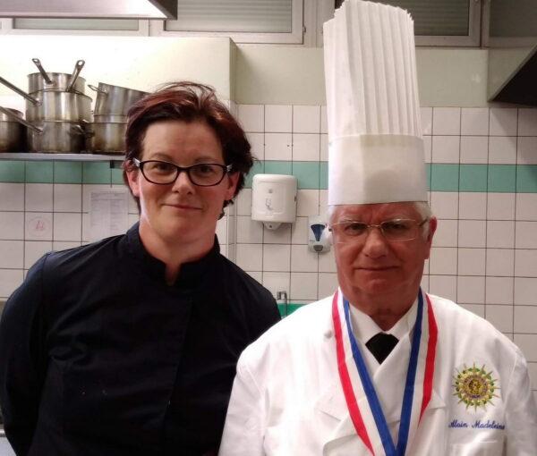 Cheffe restaurant La Fondante avec Alain Madeleine